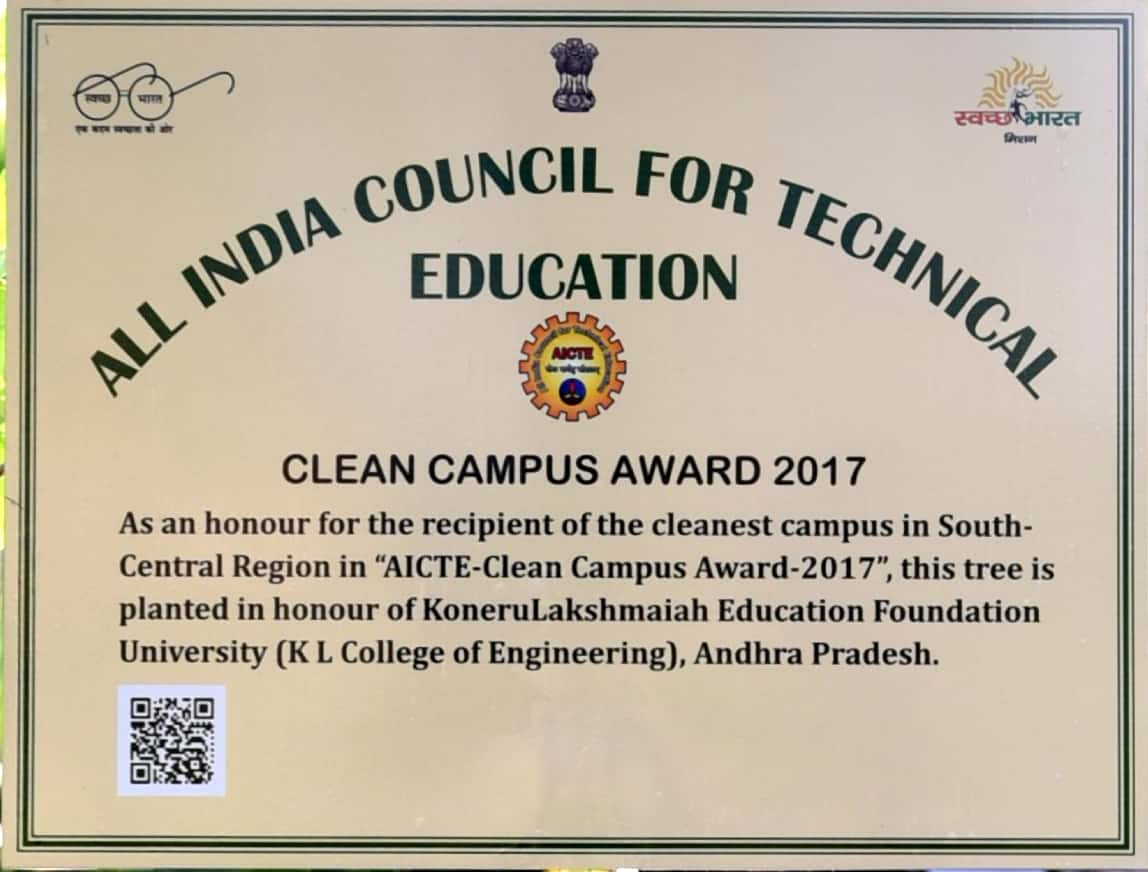 Clean Campus Awardee 8 | Government of India, All India